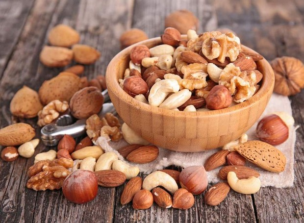 Castanhas, Nozes e amendoas